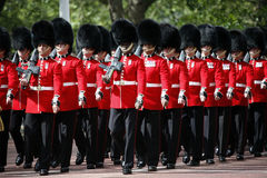 2012, Trooping the color Royalty Free Stock Photos
