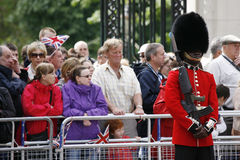 2012, Trooping the color Stock Photography