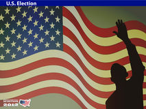 2012 U S  Presidential Election poster Stock Photo