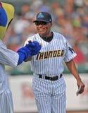 2012 Unterliga-Baseball - östliche Liga Lizenzfreies Stockfoto