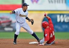 2012 Unterliga-Baseball - östliche Liga Lizenzfreie Stockbilder