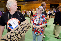 2012 Vermont Democratic Convention Stock Photo