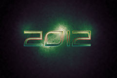 2012 Wallpaper. 2012 Apocalyptic Green And Black Wallpaper stock illustration