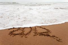 2012 weg gewaschen Lizenzfreie Stockbilder
