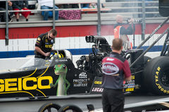 2012 Winternationals Geico / Morgan Lucas Royalty Free Stock Photography