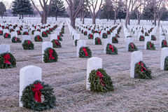 2012 Wreaths Across America Royalty Free Stock Photos