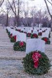 2012 Wreaths Across America Stock Photography