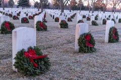 2012 Wreaths Across America Royalty Free Stock Photos