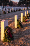 2012 Wreaths Across America Stock Photos