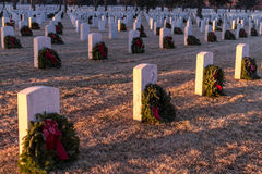 2012 Wreaths Across America Stock Images