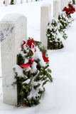 2012 Wreaths Across America Royalty Free Stock Image