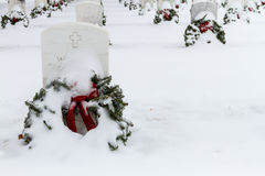 2012 Wreaths Across America Royalty Free Stock Photo