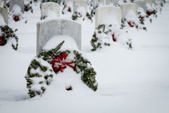 2012 Wreaths Across America Royalty Free Stock Photography