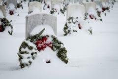 2012 Wreaths Across America Royalty Free Stock Photography