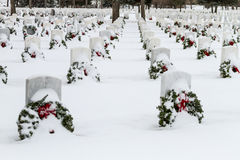 2012 Wreaths Across America Royalty Free Stock Images