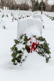 2012 Wreaths Across America Stock Photography