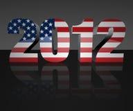 2012 wybory Zdjęcia Royalty Free