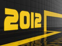 2012 year Stock Photos