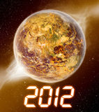2012 year of the apocalypse Stock Images