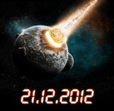 2012 year of the apocalypse Stock Image