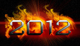 2012 year of the apocalypse Stock Photo