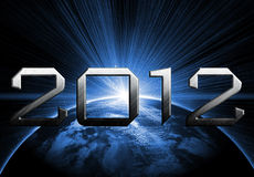 2012 year of the apocalypse Royalty Free Stock Photo