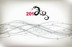 2012 year of dragon, celebration background Royalty Free Stock Photography