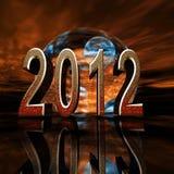 2012 zatracenie przepowiada ilustracja wektor