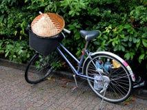 亚洲自行车 免版税库存照片