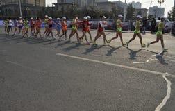 2012年瓷比赛拿着jiangs伦敦奥林匹克 图库摄影
