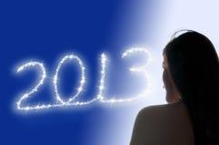 2013年女孩 免版税库存图片