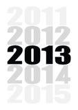 2013年很快来 库存照片