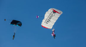 2013第35个热空气气球节日,瑞士 免版税库存照片