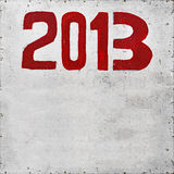 2013 år Royaltyfri Foto