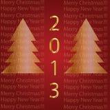 2013 παντρεψτε τα Χριστούγεννα, καλή χρονιά. Στοκ φωτογραφίες με δικαίωμα ελεύθερης χρήσης