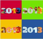 2013 до 01 Стоковое Фото