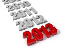 2013 здесь! Стоковые Фото
