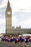 2013, парад дня Новый Год Лондона Стоковое фото RF