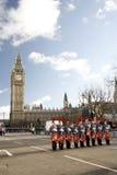 2013年,伦敦新年游行 图库摄影