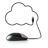 2013-01-09_cloud_computing_maus_5505 Lizenzfreies Stockbild