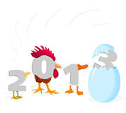 2013 - 03. Illustration with a symbol of year 2013 - 03 Royalty Free Stock Photo