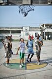 2013_07_06_Mogadishu_Basketball_D.jpg Royalty Free Stock Images