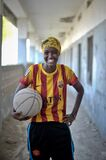 2013_07_06_Mogadishu_Basketball_G.jpg Royalty Free Stock Image