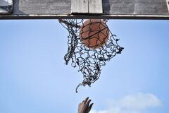 2013_07_06_Mogadishu_Basketball_H.jpg Royalty Free Stock Photo