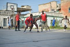 2013_07_06_Mogadishu_Basketball_M.jpg Stock Photo