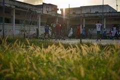 2013_07_06_Mogadishu_Basketball_S.jpg Stock Image