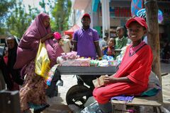 2013_08_05_Mogadishu_Life_Economy_003 Royalty Free Stock Photos