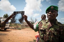 2013_08_19_AMISOM_Sector_Two_Health_Clinic_004 Stock Image