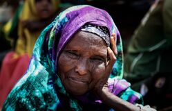 2013_08_19_AMISOM_Sector_Two_Health_Clinic_005 Royalty Free Stock Image
