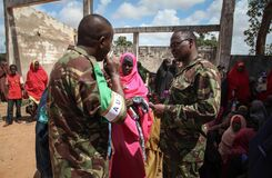 2013_08_19_AMISOM_Sector_Two_Health_Clinic_008 Royalty Free Stock Photography